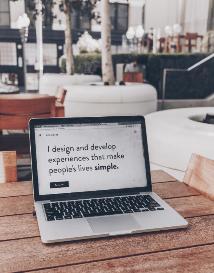 Un design doit être simple